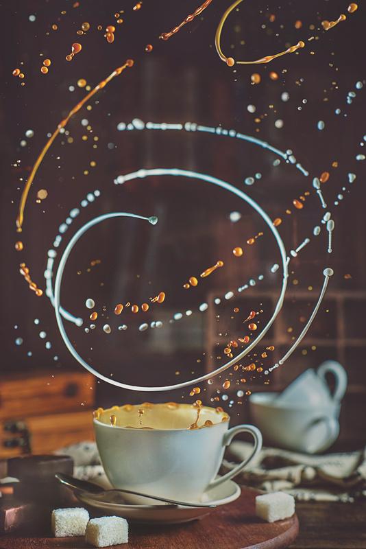 Empty cup by Dina Belenko