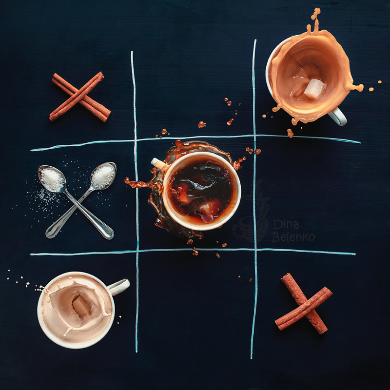 Coffee wins by Dina Belenko