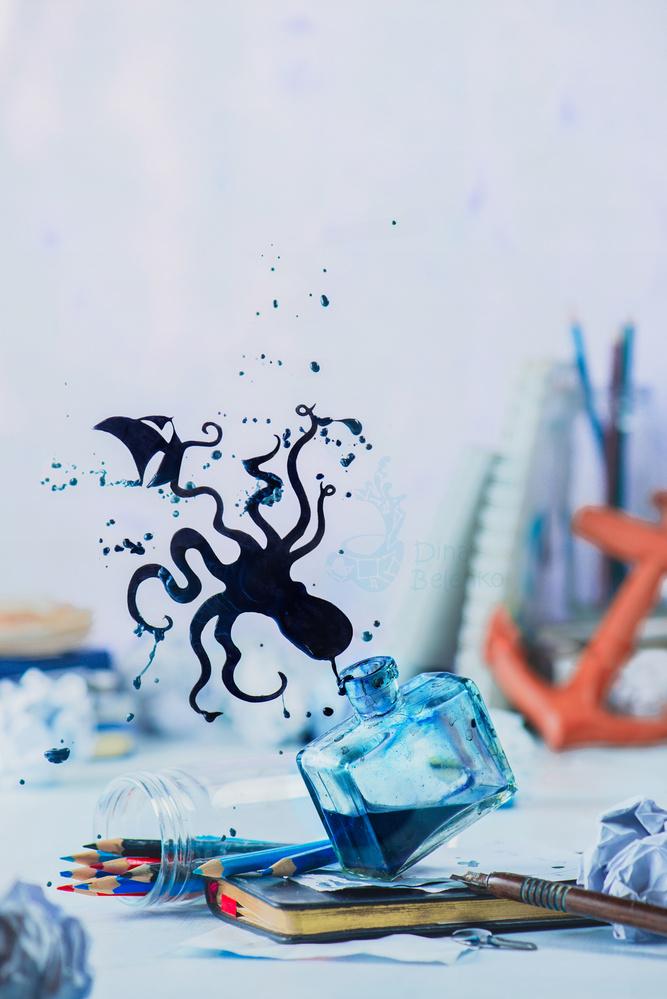 Stories of Ink_Under water by Dina Belenko