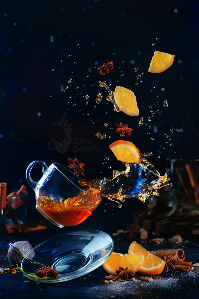 Lemon Tea (Wingardium Leviosa!) by Dina Belenko