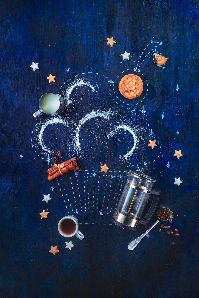 Cupcake constellation by Dina Belenko