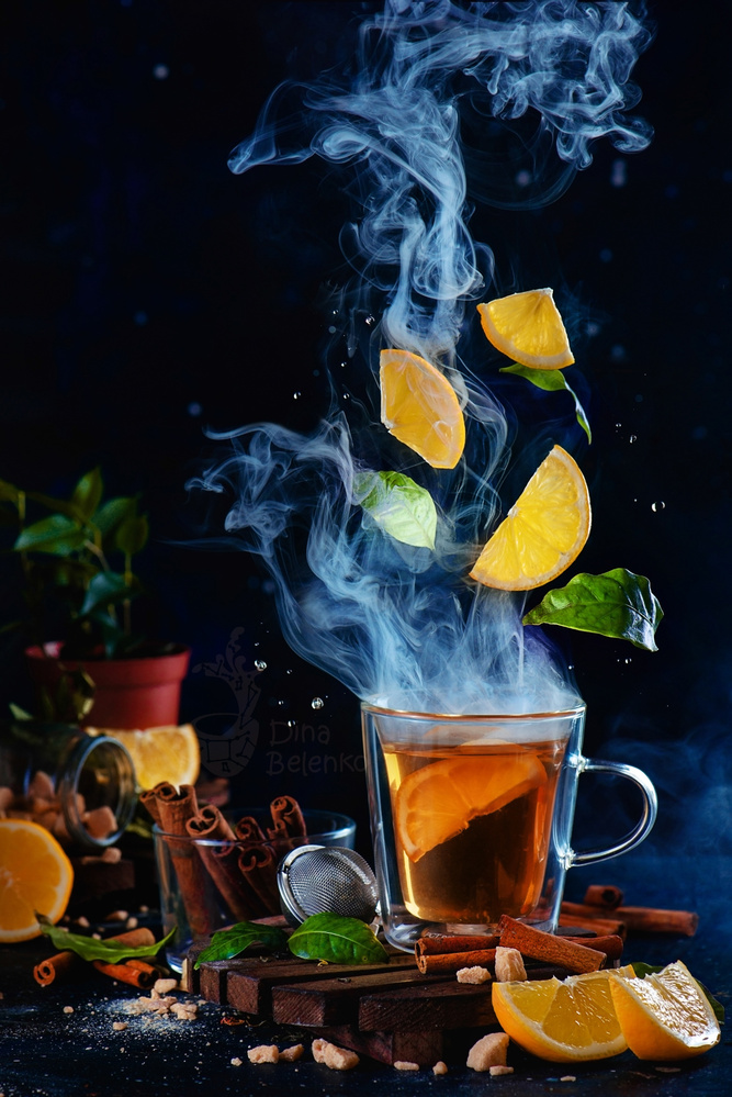 Lemon Tea (Hot!) by Dina Belenko