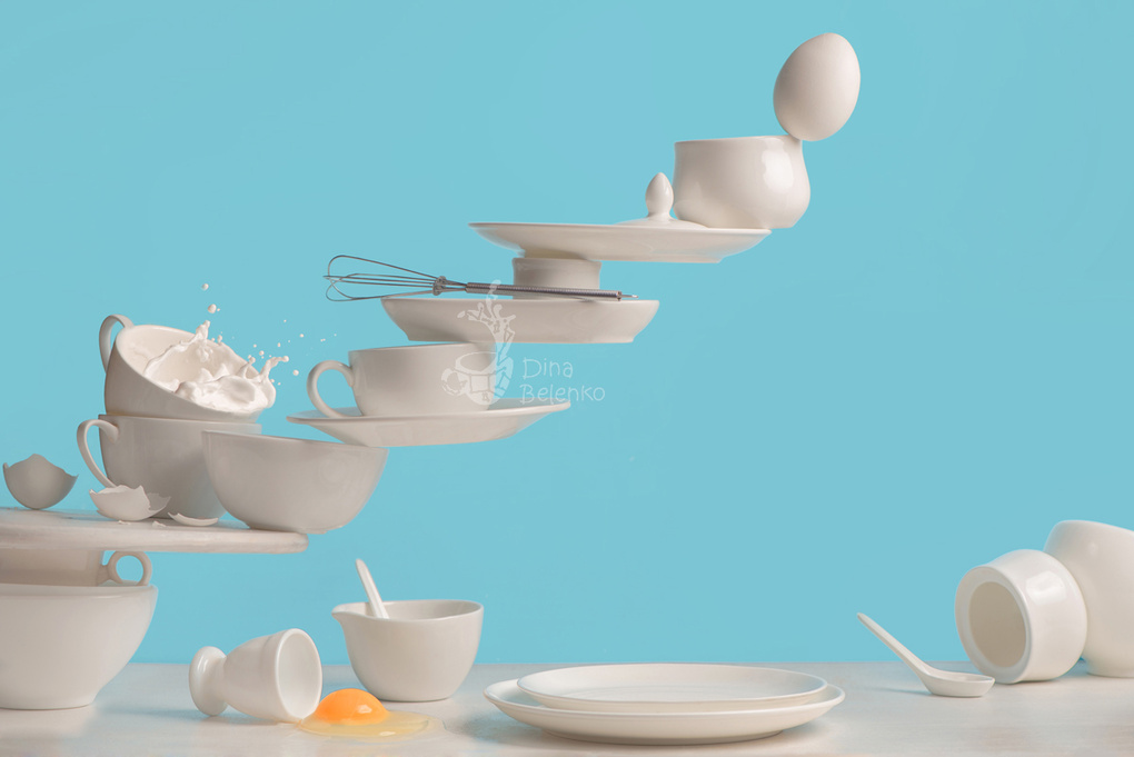 One touch: omelette by Dina Belenko