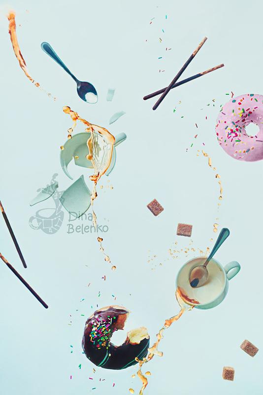 Crash tea party by Dina Belenko