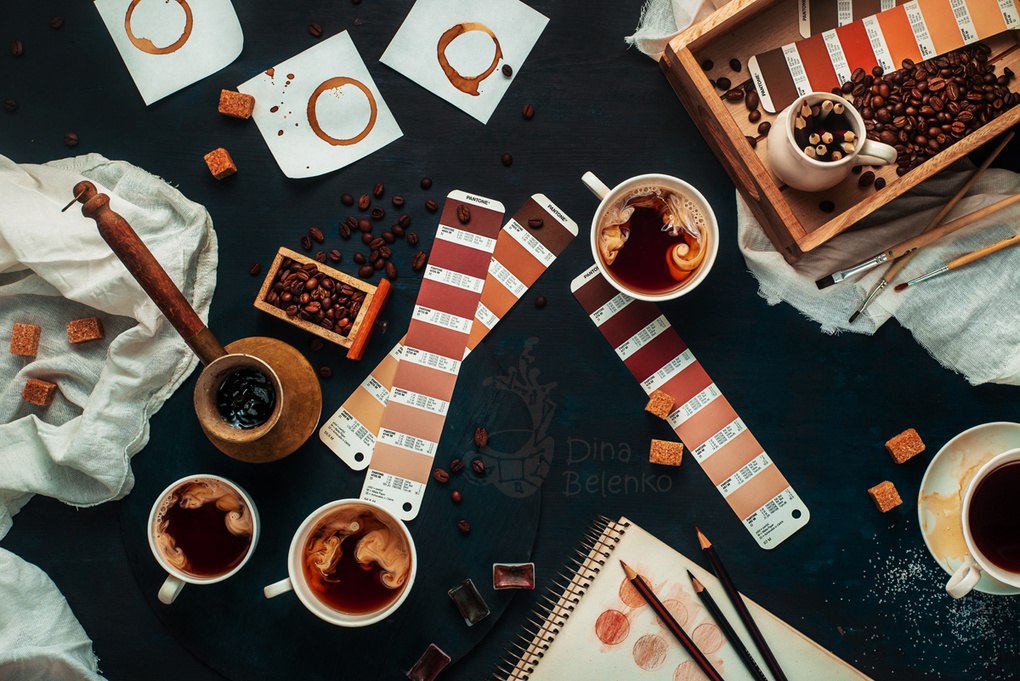 Shades of coffee by Dina Belenko