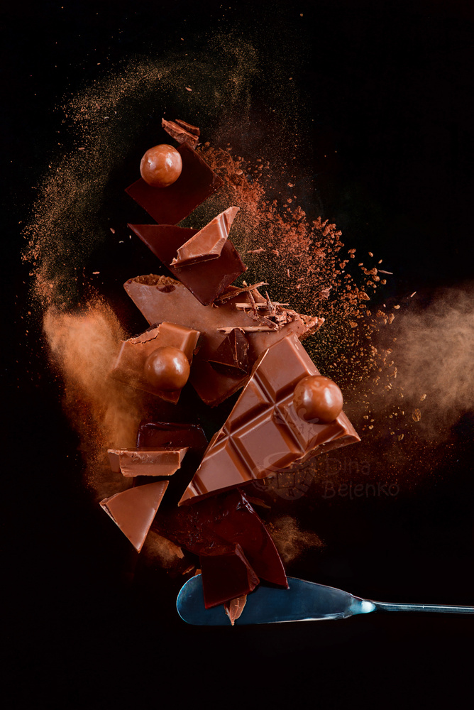Chocolate Explosion. Part 2 by Dina Belenko