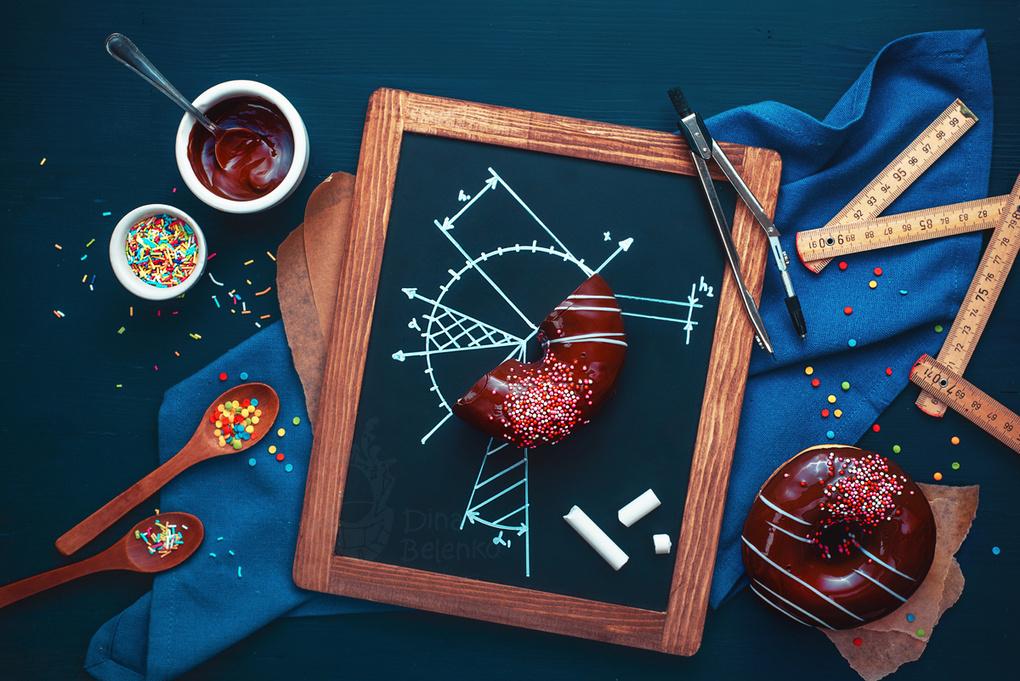 Donut study  by Dina Belenko
