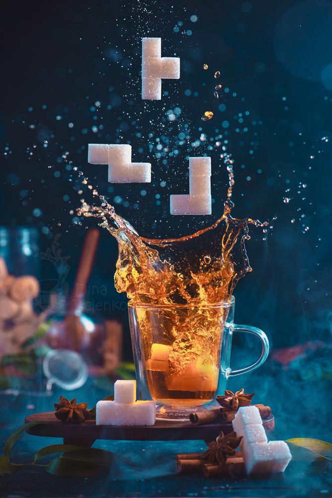 Tetramino tea. Part 1 by Dina Belenko