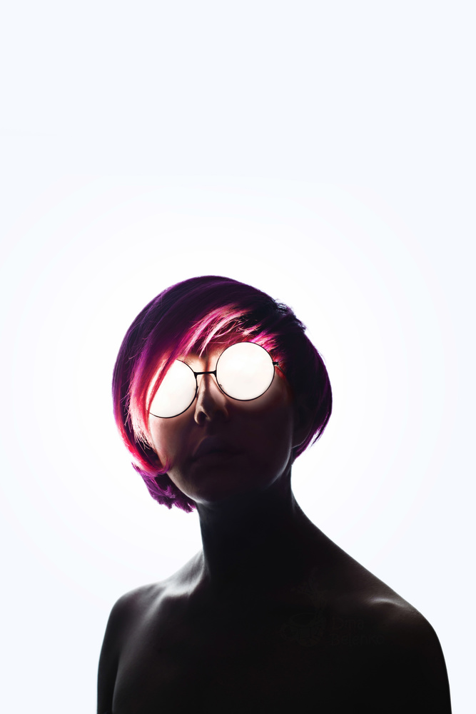 Scary Shiny Glasses by Dina Belenko