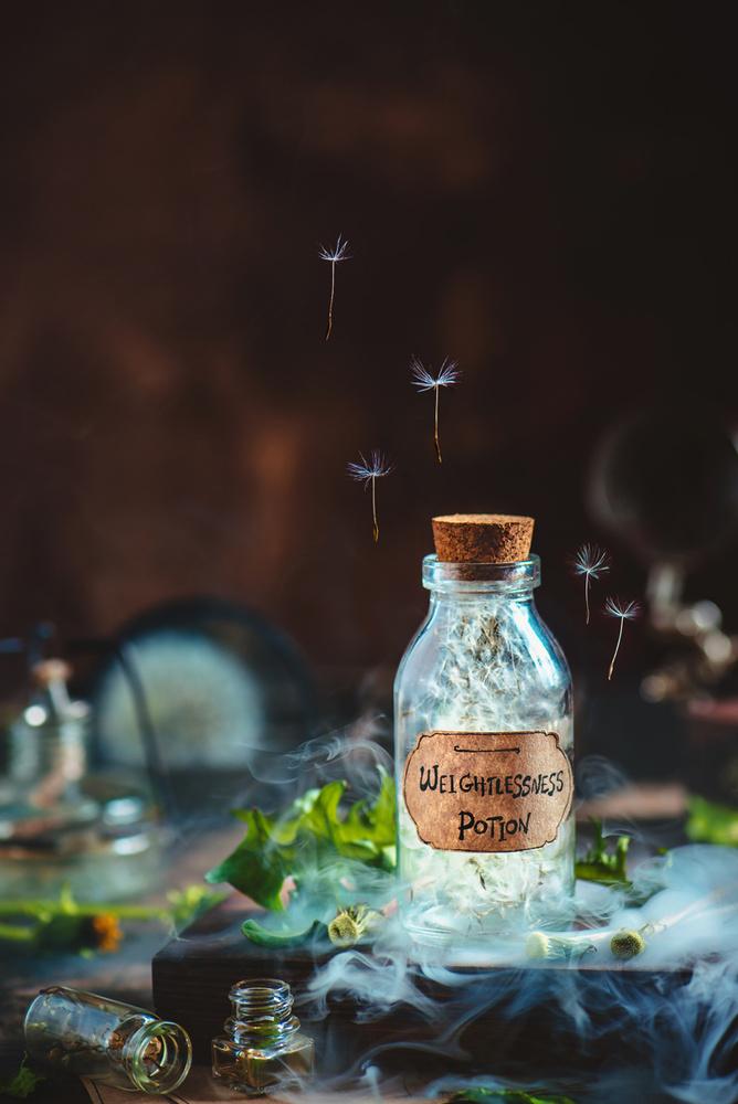 Weightlessness Potion by Dina Belenko