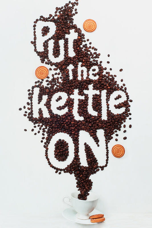 Put the kettle on!  by Dina Belenko