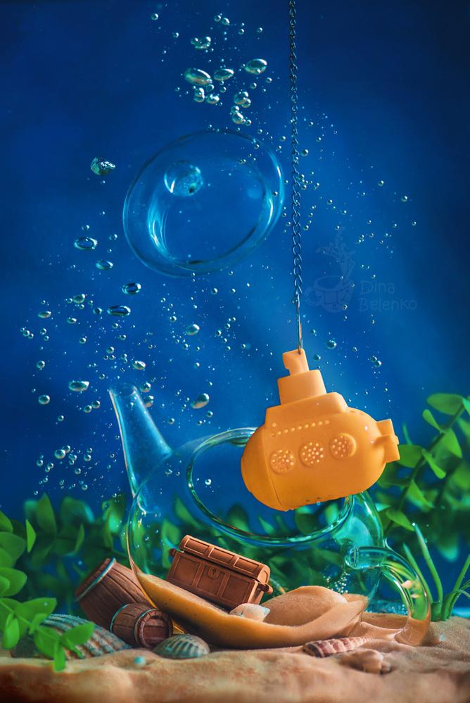 Underwater Teatime by Dina Belenko