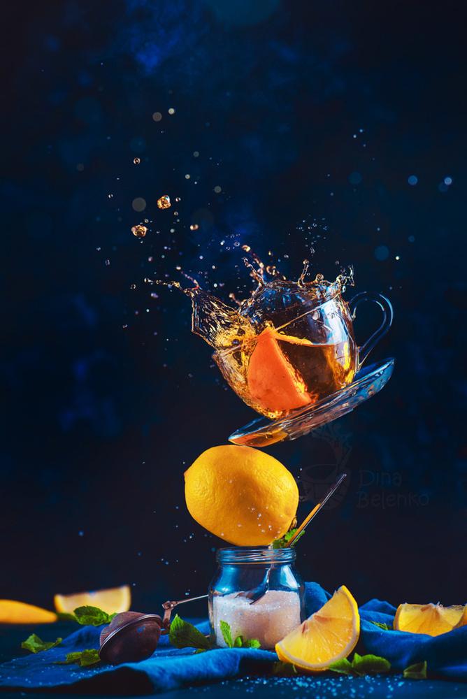 Lemon tea by Dina Belenko