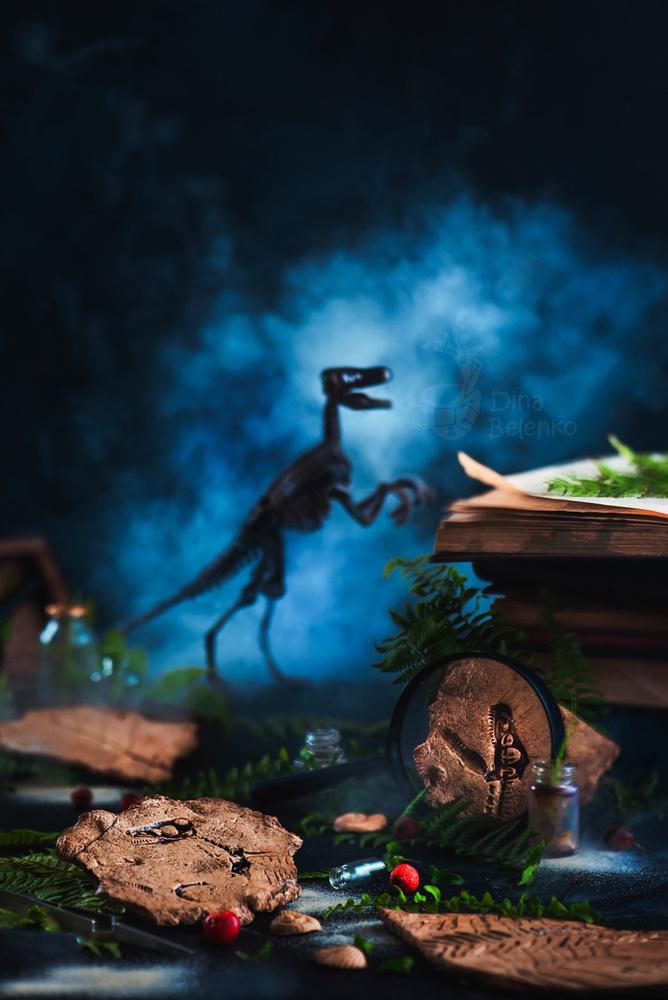 T-Rex and his sense of kawaii (Part 1) by Dina Belenko