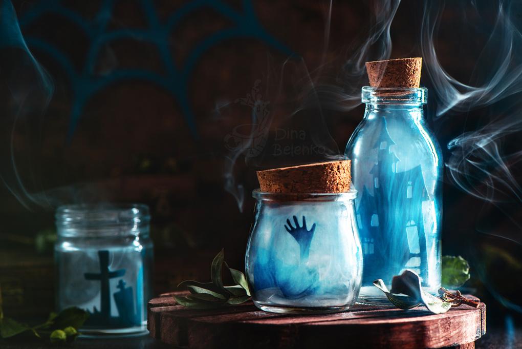 Don't open till Halloween  by Dina Belenko