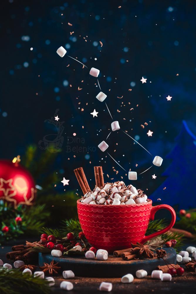 Ursa Major (with marshmallow) by Dina Belenko