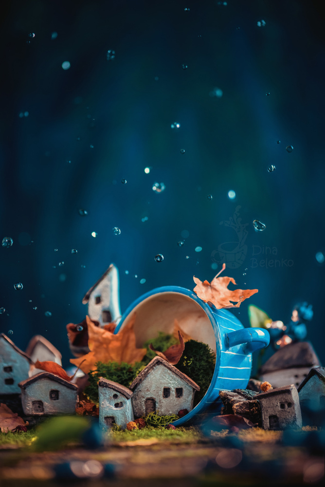 Porcelain Town by Dina Belenko