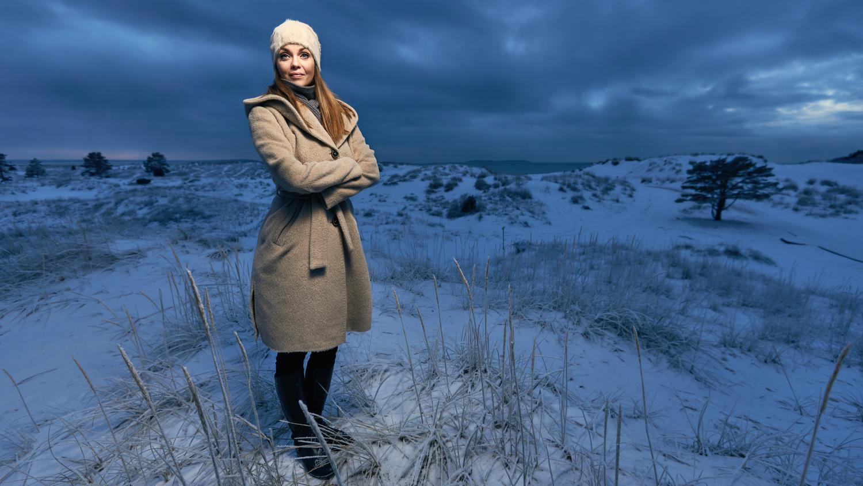 Frozen Dunes by Mika Kallio