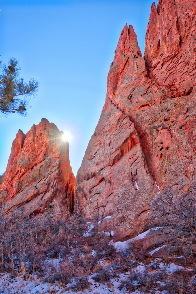 Garden Of The Gods by Larry Goodwin