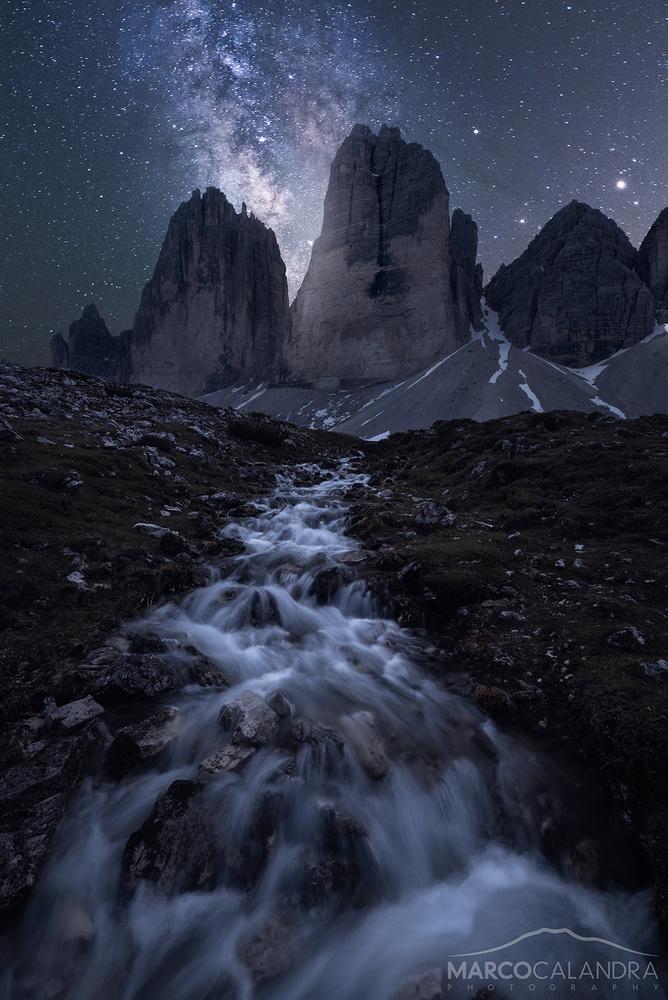 Stellar night by Marco Calandra