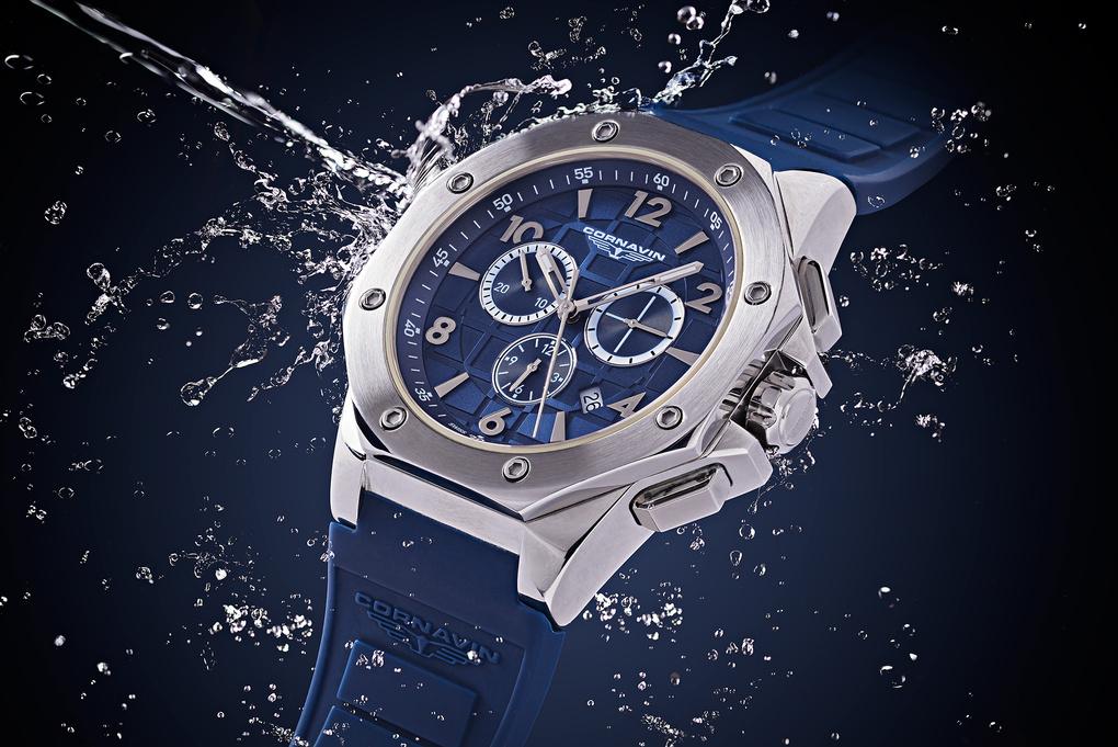 Cornavin Watch with Water splash by Márton Botond