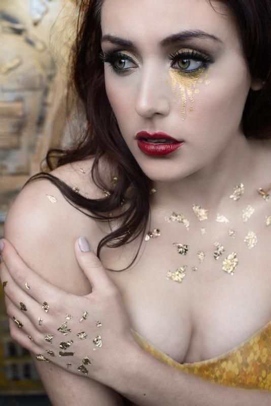 """ a golden tear"" by Dean NinderryStudios"
