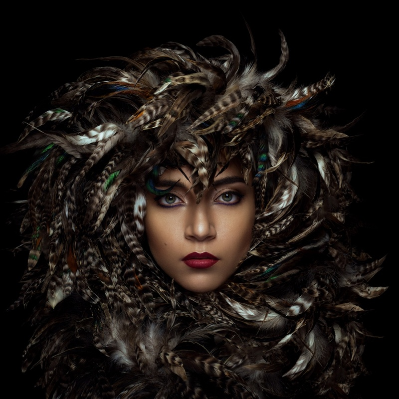 feathers by Marc lamey