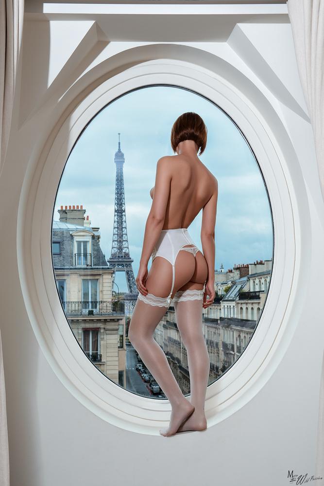 A window on Paris by Marc lamey