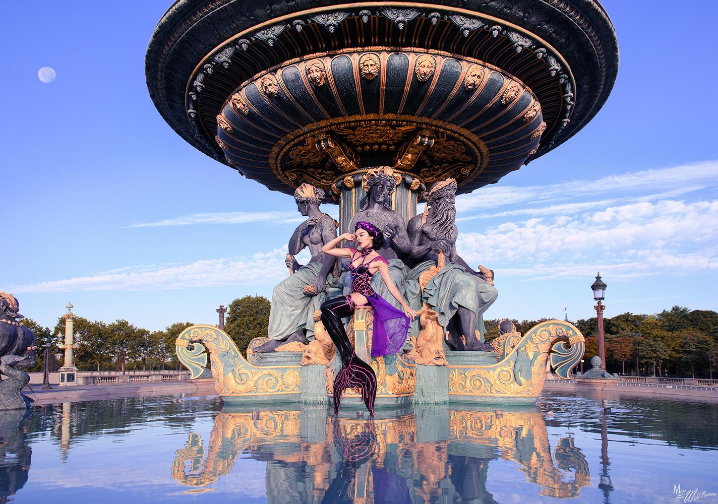Mermaids in Paris by Marc lamey