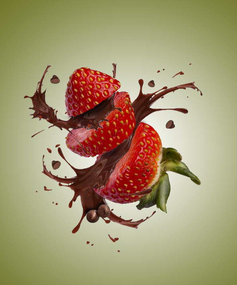 Strawberry chocolate fun by Llewellyn Badham-Thornhill