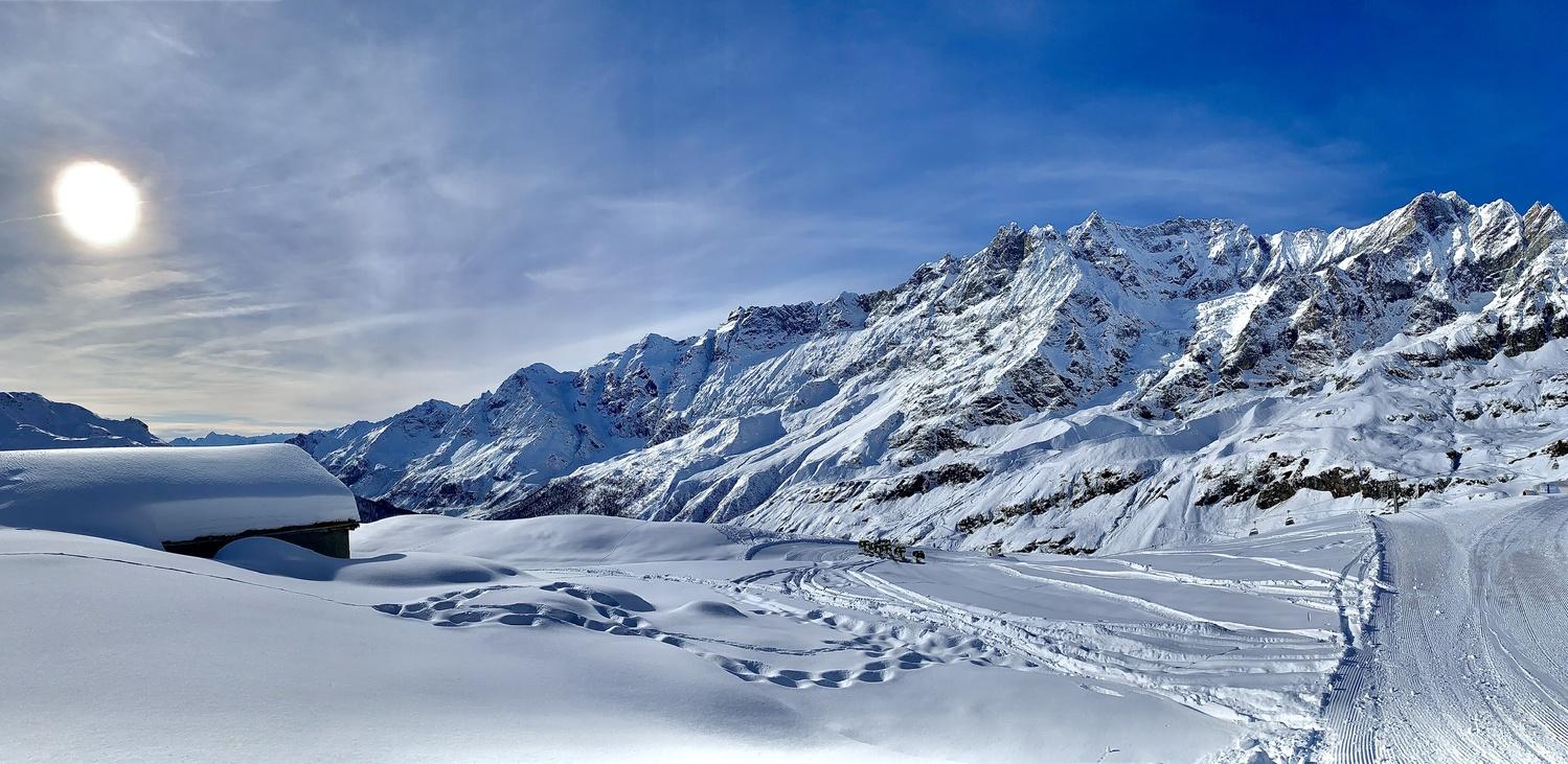 Snow time by Llewellyn Badham-Thornhill