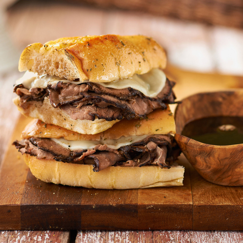 French Dip us jus  by Studio Peck