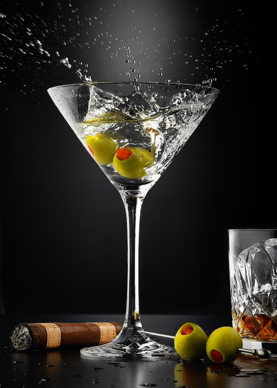 Martini Bourbon After Party Splash by Studio Peck