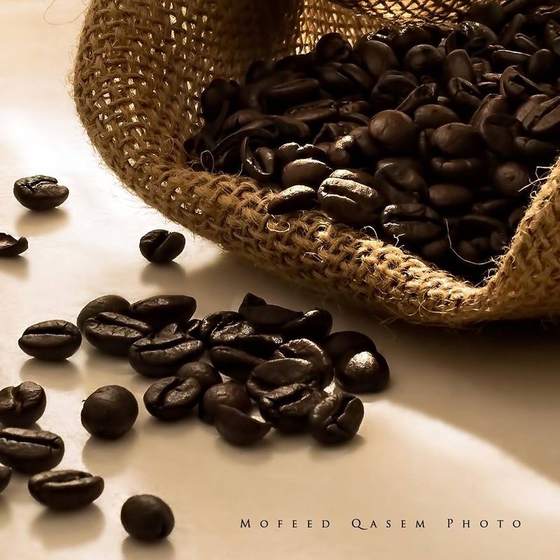 Coffee beans by Mofeed Qasem