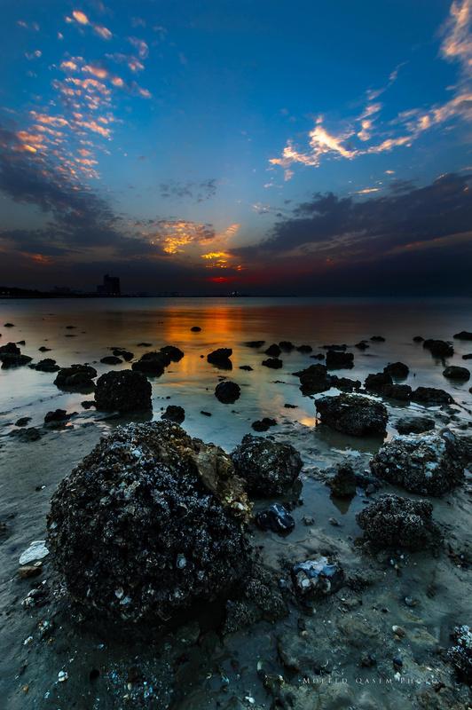 Kuwait sunset by Mofeed Qasem