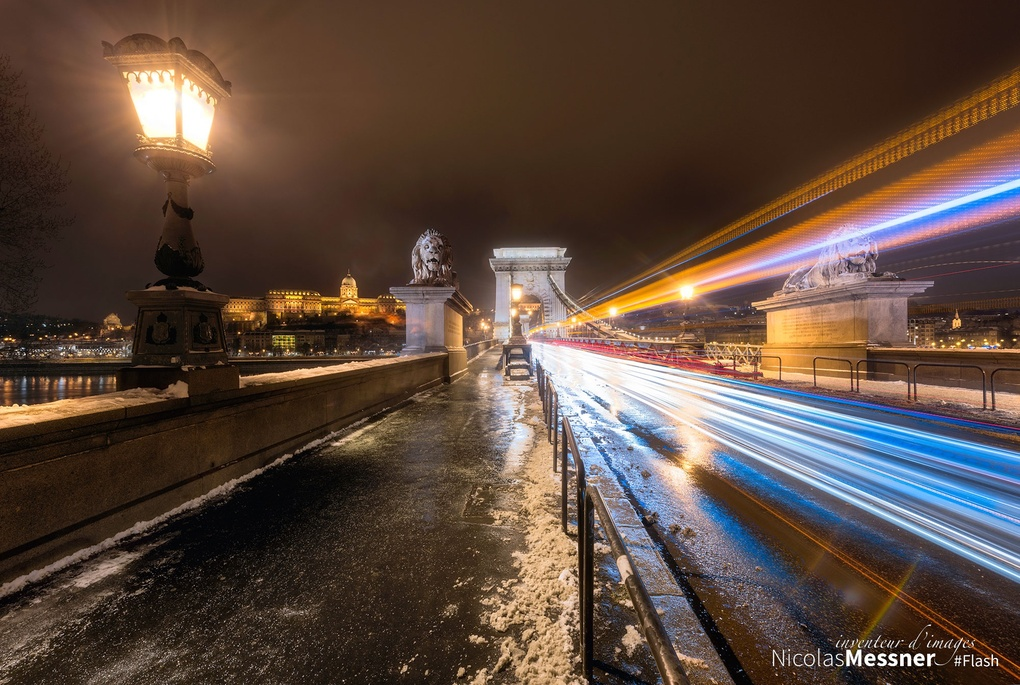 Budapest Chain Bridge 2 by Nicolas Messner