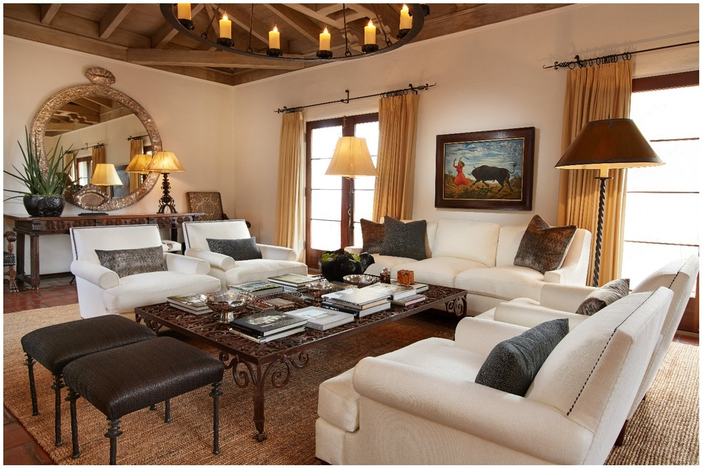 Christiancy Estate - living room by John Riedy