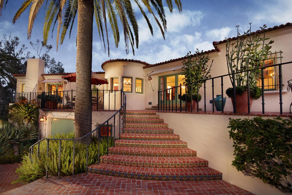 Christiancy Estate - Back patio by John Riedy