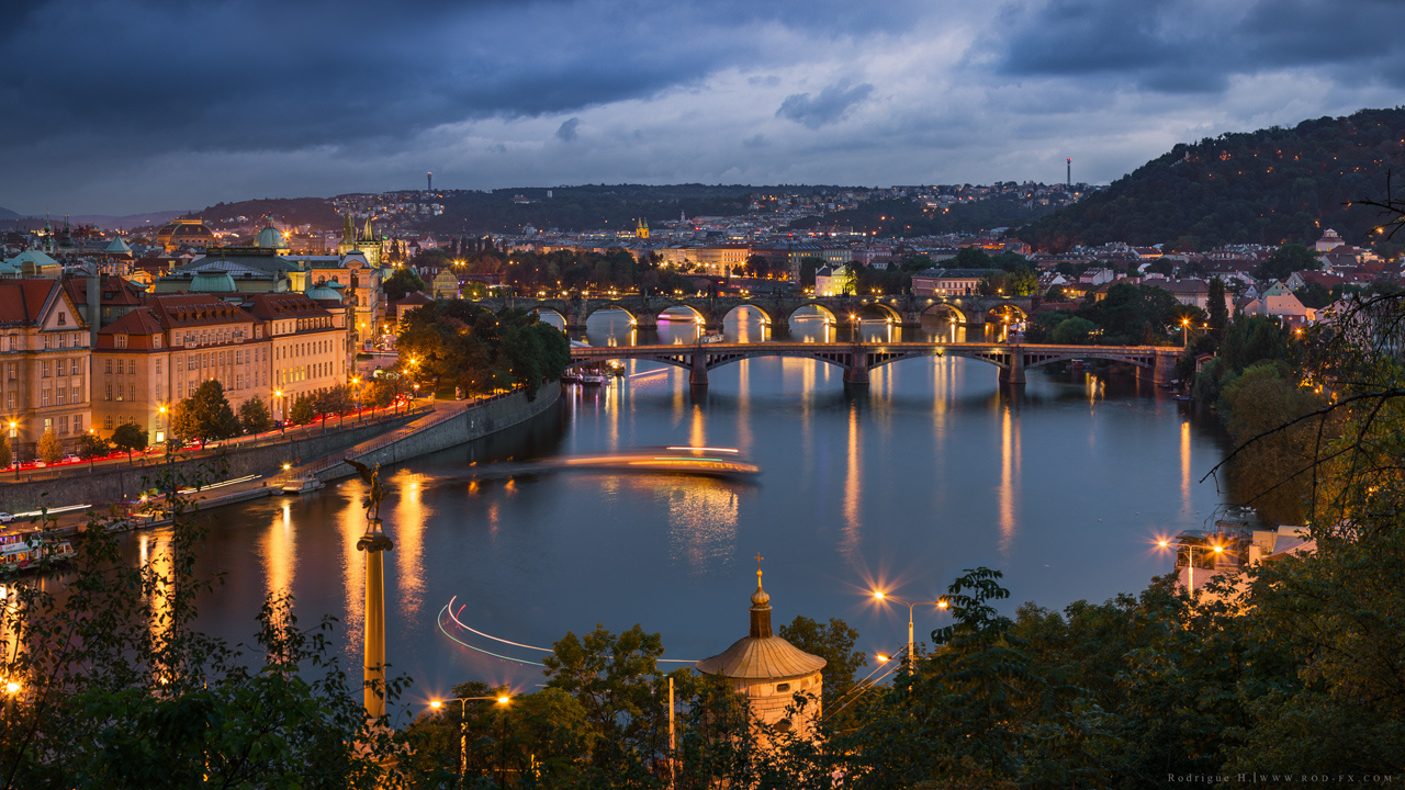 Vltava River by Rodrigue El Hajj