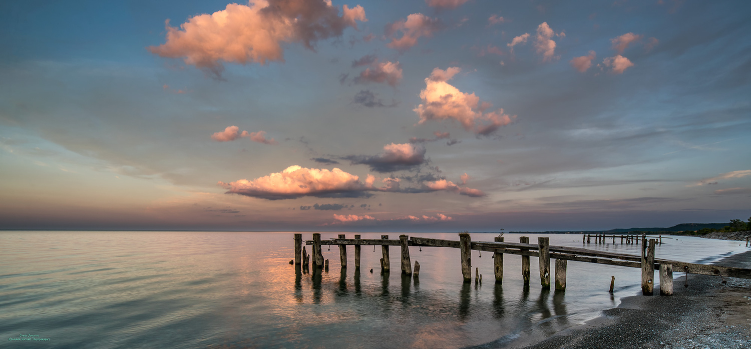 Fifty Point Sunset by James Johnston