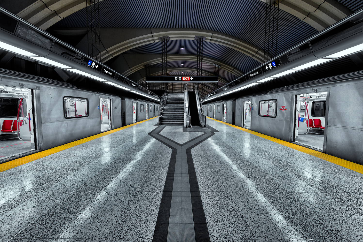 Downsview Station by Chris Ward