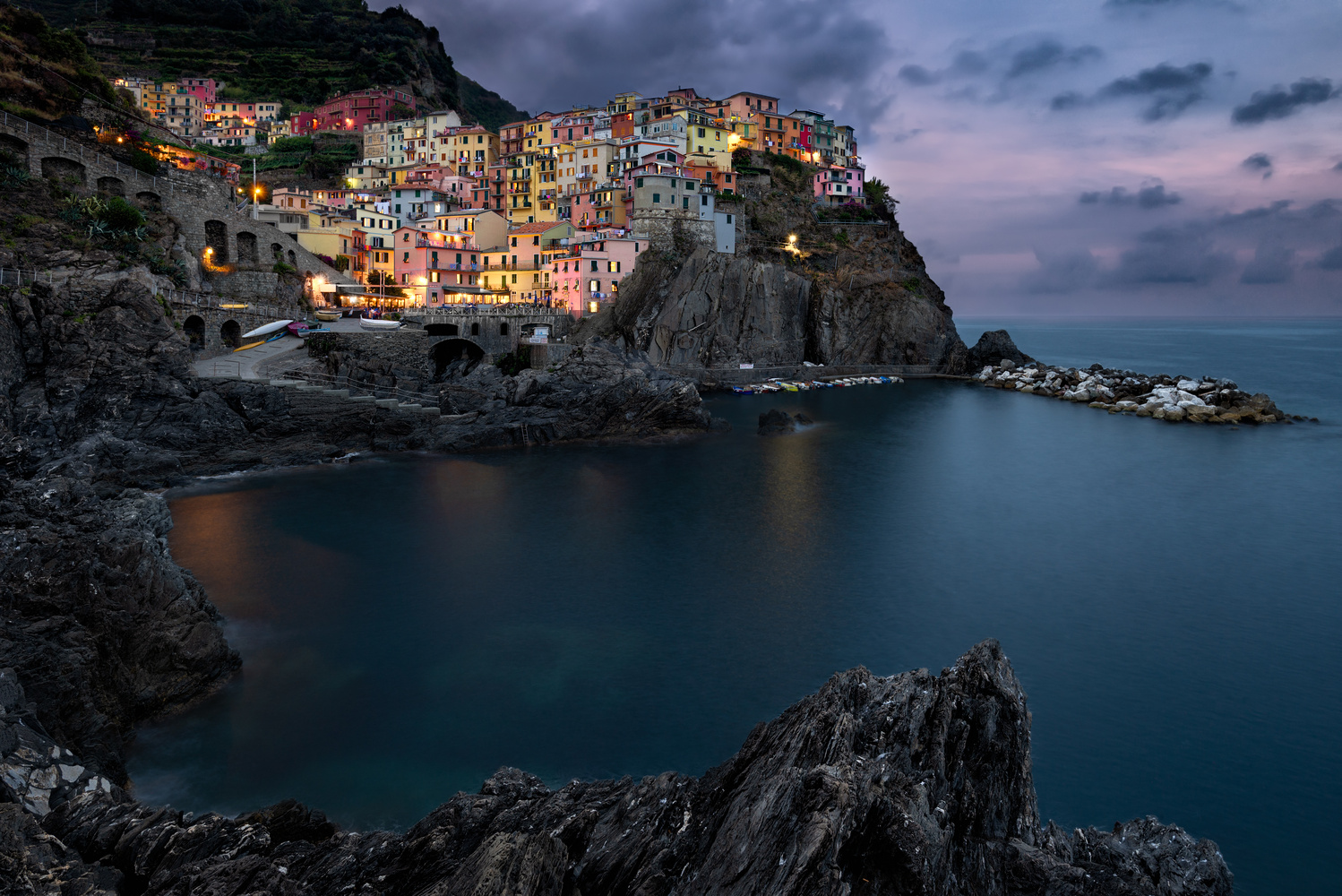 Manarola by Chris Ward