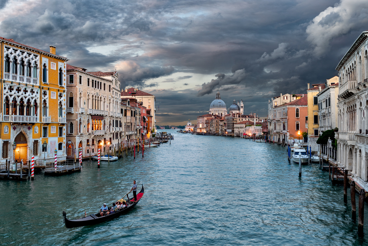 From a Wooden Bridge in Venice by Chris Ward