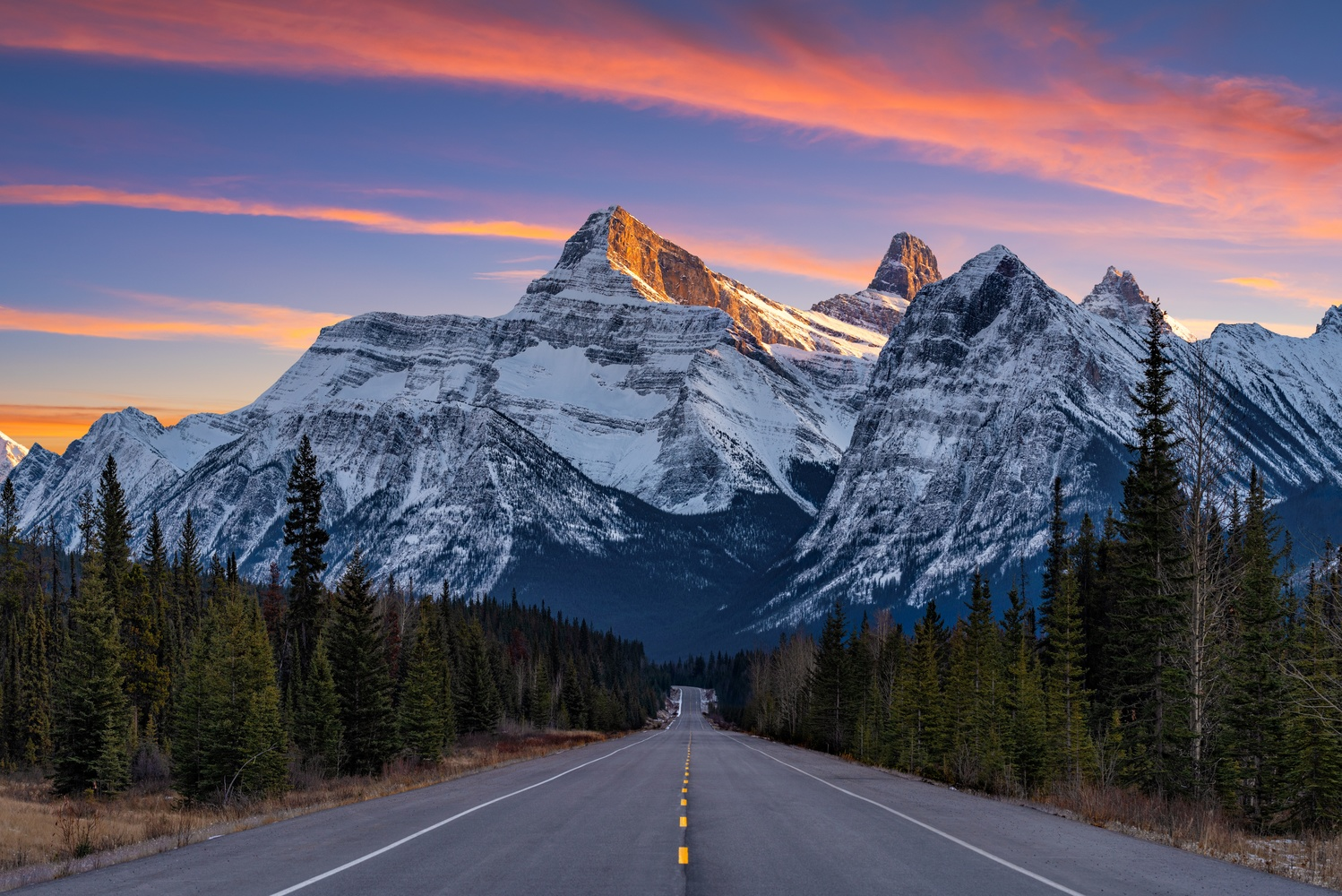 Icefields Parkway by Chris Ward