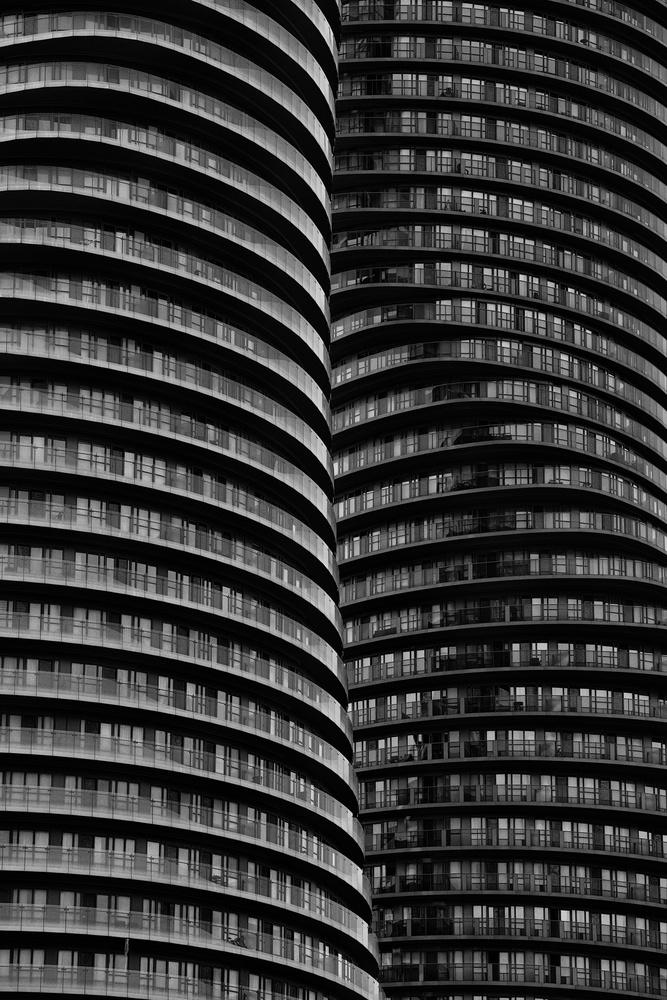 Opposing Balconies by Chris Ward