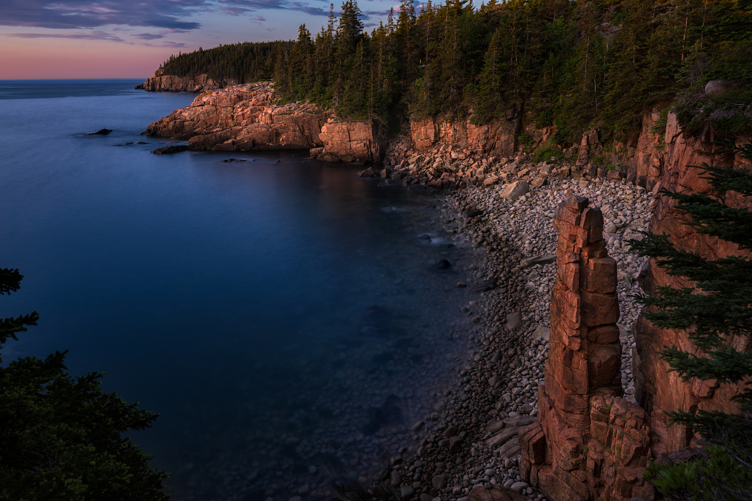 Monument Cove by Chris Ward