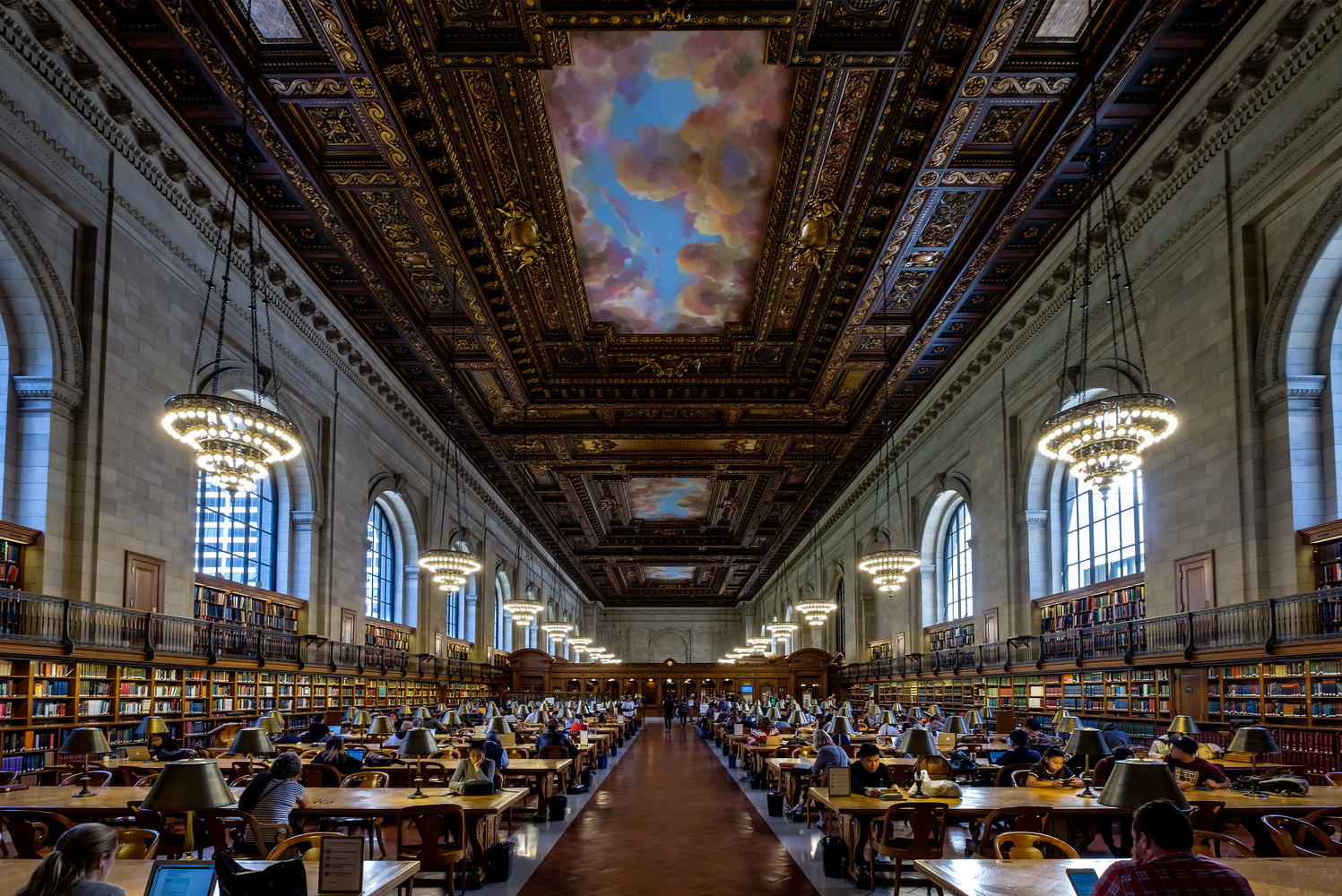 The Rose Reading Room by Chris Ward