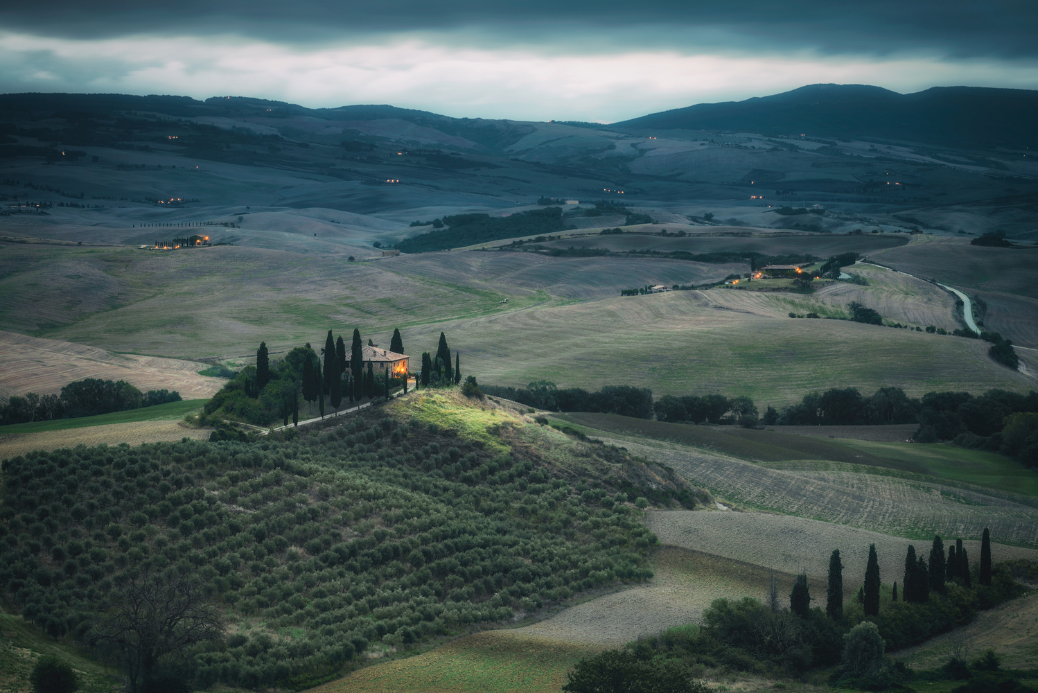 Val D'Orcia by Chris Ward