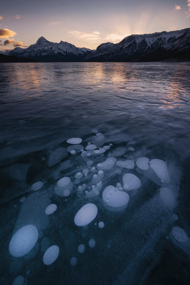 Ice Bubble by Shumon Saito