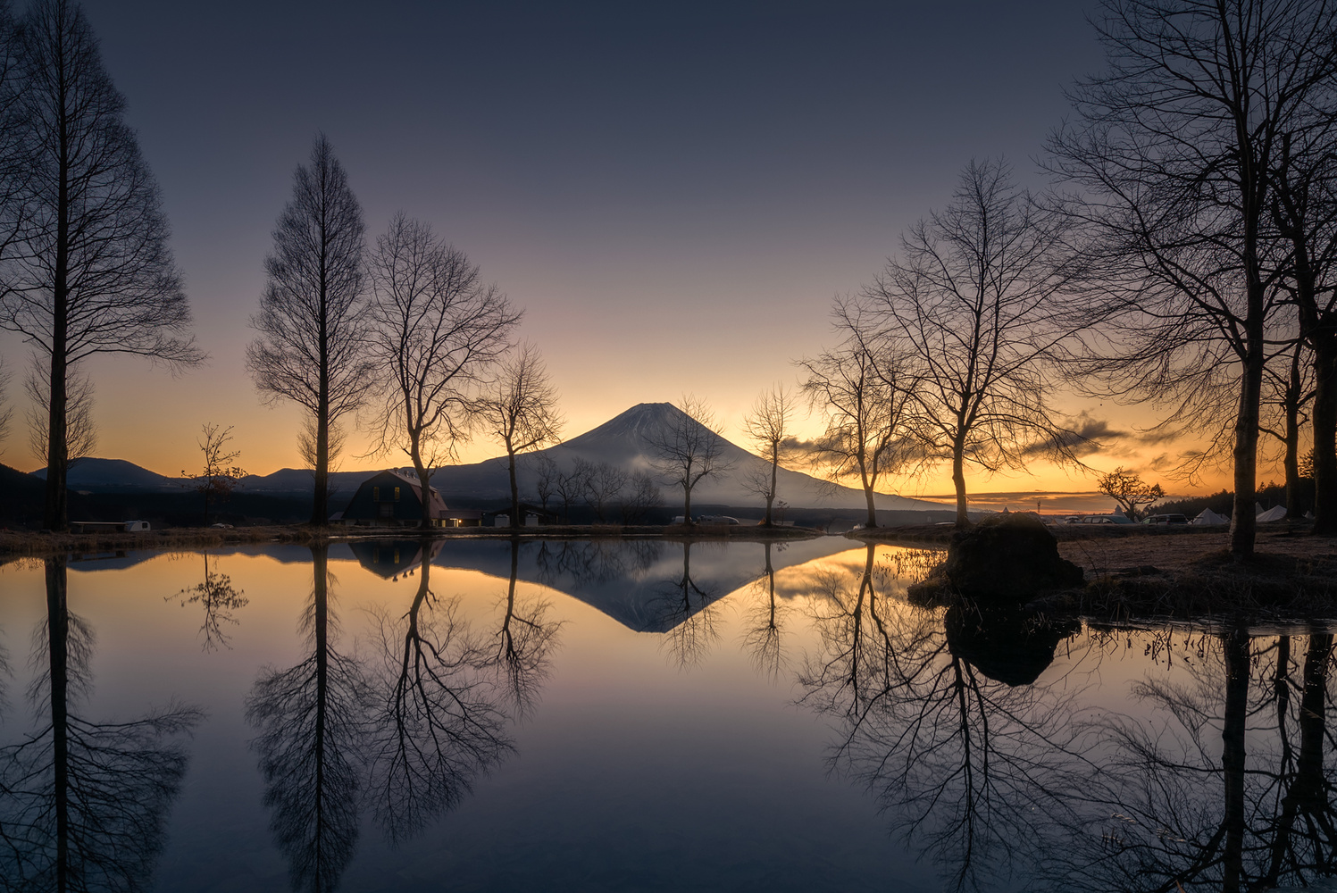 Mt. Fuji by Shumon Saito